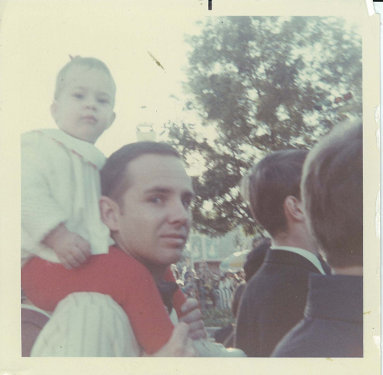 Brien Manning and Erin Manning Disney Parade 1968