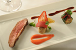 Remy's Roasted Muscovy Duck with Rhubarb