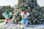 Christmas at Tokyo Disneyland