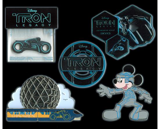 'TRON: Legacy' Pins