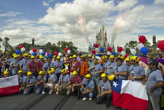 Chilean Miners Honored at Walt Disney World Resort