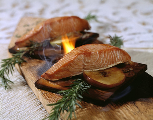 Cedar Plank Salmon