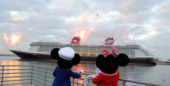 The Disney Dream Arrives at Florida's Port Canaveral