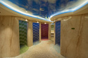 Rainforest Area Inside Senses Spa & Salon