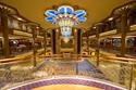 The Disney Dream's Art Deco Atrium Lobby