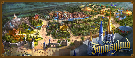New Fantasyland Grand Opening Set For December 6 at Magic Kingdom Park at Walt Disney World Resort