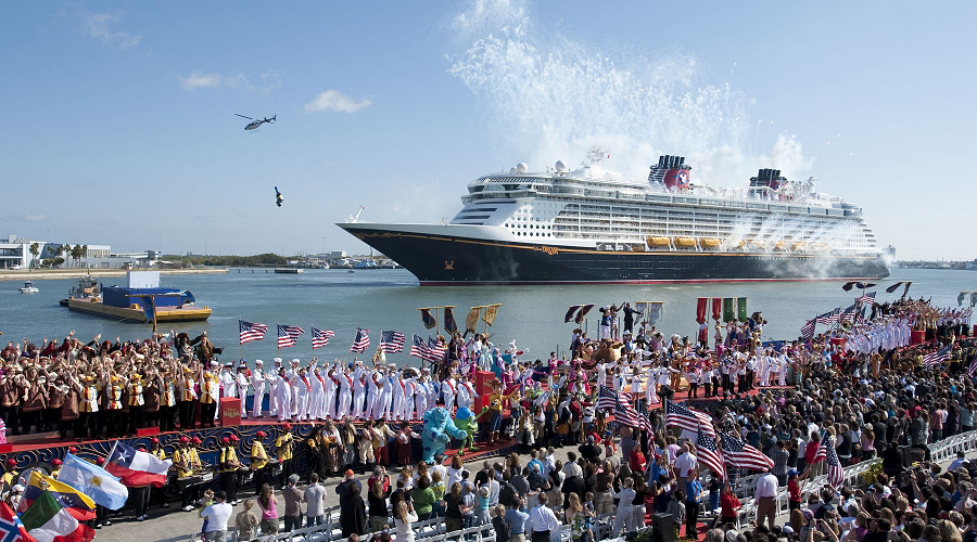 Godmother Jennifer Hudson Christens New Cruise Ship With Disney - Is disney building a new cruise ship