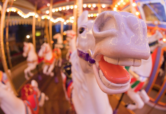 King Arthur Carrousel at Disneyland Park