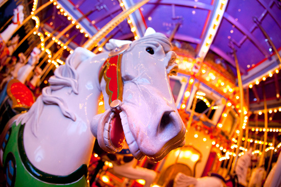 King Arthur Carrousel at Disneyland Park
