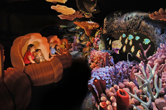 The Seas with Nemo & Friends Attraction at Epcot