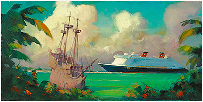 'Pirates Dream,' by G. Scribner