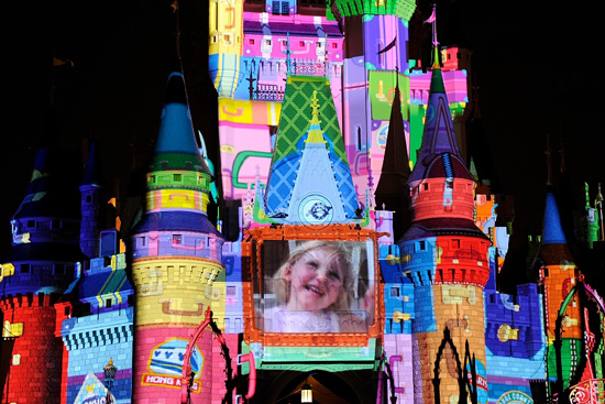 Guest Photos Projected on Cinderella Castle at Magic Kingdom as Part of Disney Parks' 'Let The Memories Begin' Campaign
