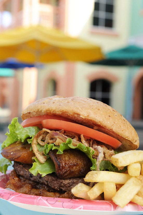 Designer Burgers at Walt Disney World