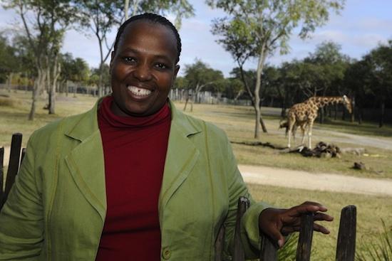 Mrs. Nomusa Zikhali, Principal of the Nkomo Primary School