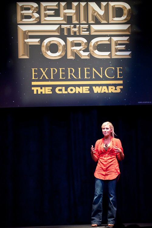 Ashley Eckstein at Star Wars Weekends at Disney's Hollywood Studios