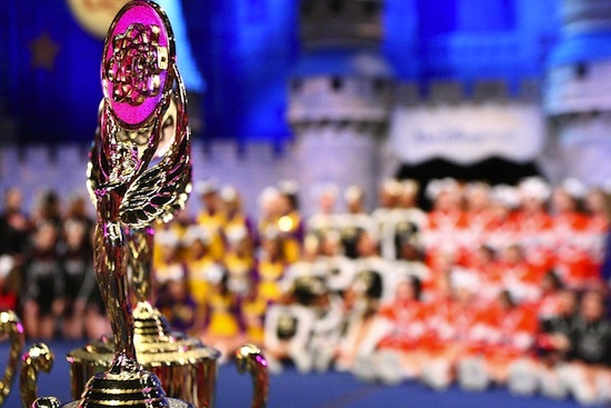Hundreds of Top Cheerleading Teams Compete at Walt Disney World