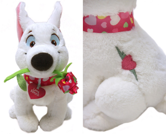 Bolt Valentine's Day Plush