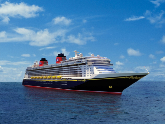 Rendering of the Disney Fantasy.