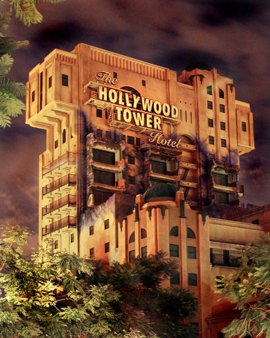 Things You Might Not Know About the Twilight Zone Tower of Terror at Disney California Adventure Park
