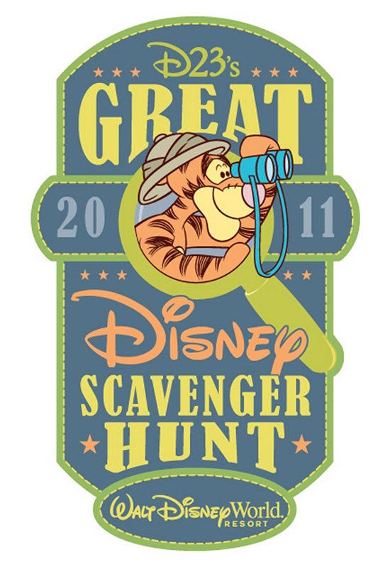 D23's Great Disney Scavenger Hunt: Walt Disney World