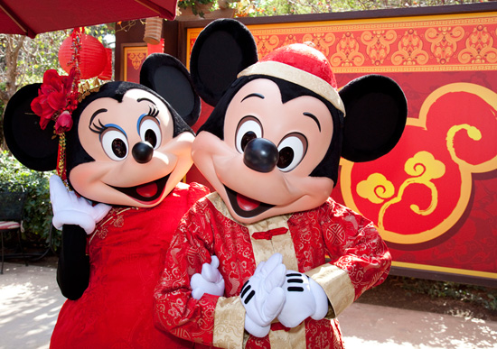 Happy Lunar New Year Celebration at Disney California Adventure Park