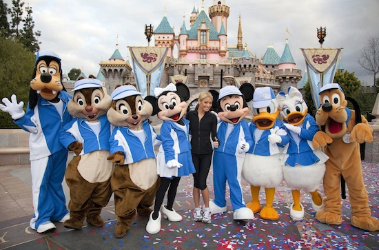 Regis and Kelly's Run Across America Begins at Disneyland Park