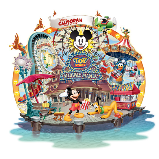 New Disney California Adventure Merchandise Logo