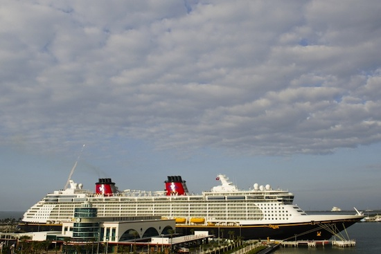 The Disney Dream in Port Canaveral, By: Matt Stroshane