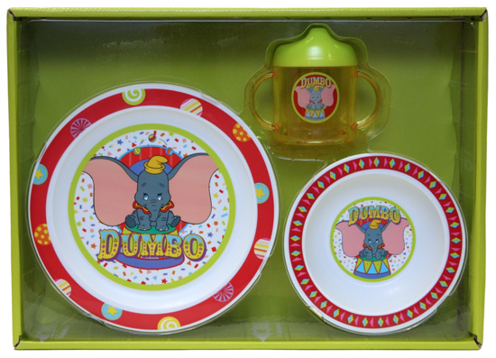 Dumbo Dish Set