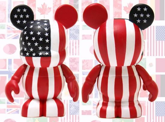 Flag Vinylmation Figures – USA