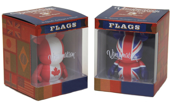 Flag Vinylmation Figures