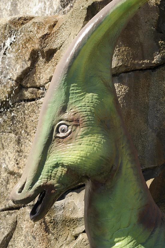 Where at Disney Parks Can You Find This Green Dinosaur?
