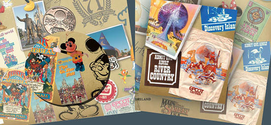 Walt Disney World 40th Anniversary Merchandise