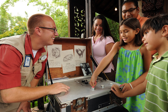 Disney's Animal Kingdom Brings Children and Wildlife Together