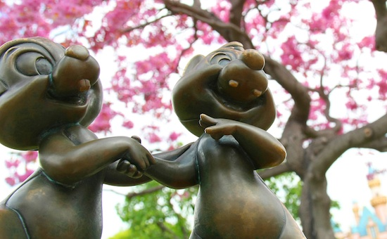 Springtime in Disneyland Park By: Paul Hiffmeyer