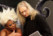 Queen Latifah as Ursula from 'The Little Mermaid' and Annie Leibovitz