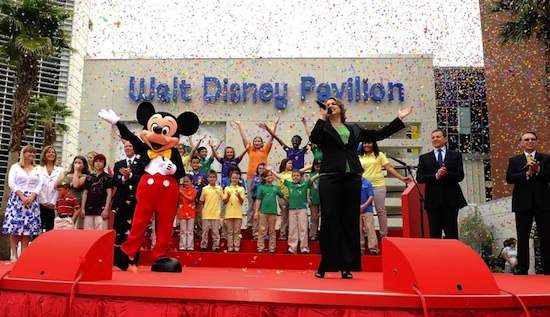Walt Disney Pavilion at Florida Hospital for Children Opens With Fanfare