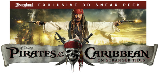 'Pirates of the Caribbean: On Stranger Tides' Exclusive 3D Sneak Peek