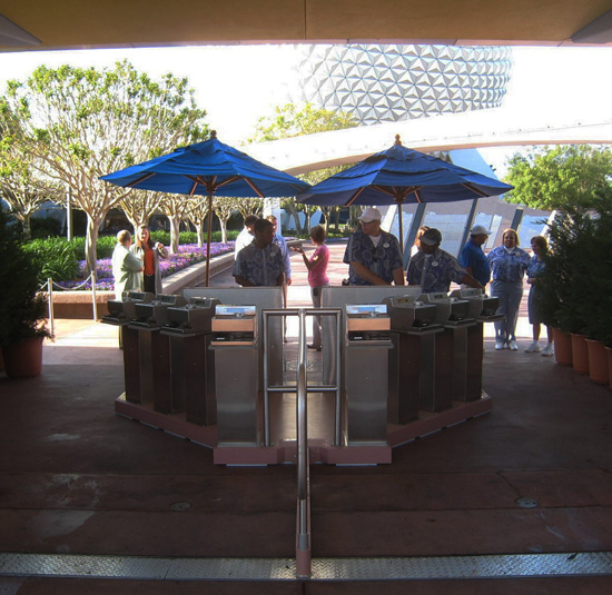 Experimental Entry Configuration at Epcot
