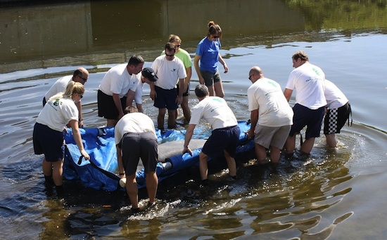 Jasper the Manatee Released in the Indian River Lagoon in February