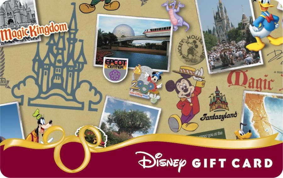 40th anniversary disney gift cards wdw fan zone