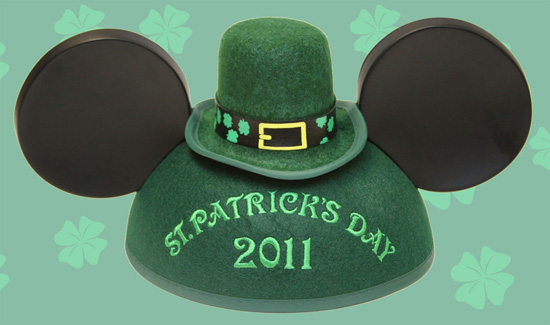 St. Patrick's Day Earhat