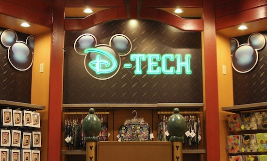 Checking In with D-Tech at Disney Parks