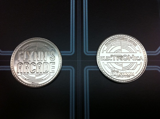 New Flynn's Arcade Token at ElecTRONica
