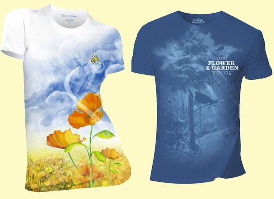 Epcot International Flower & Garden Festival T-Shirts