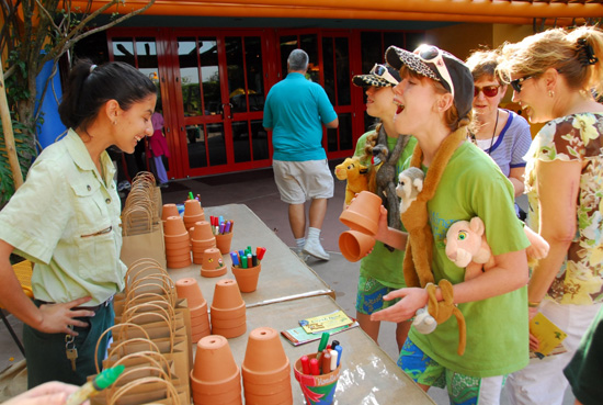 Guests Participate in Party for the Planet 2010 at Disney's Animal Kingdom