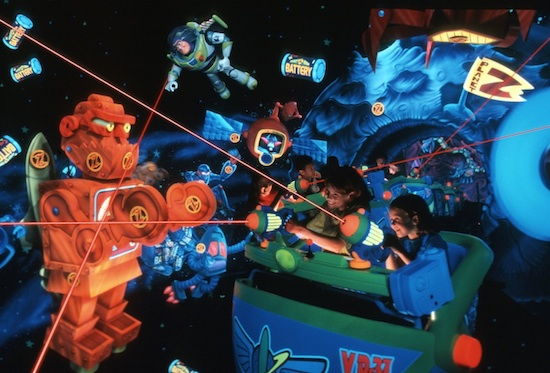 Buzz Lightyear Laser Blast