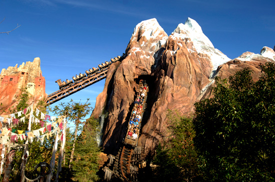 Take 5: Thrill Rides at Disney Parks