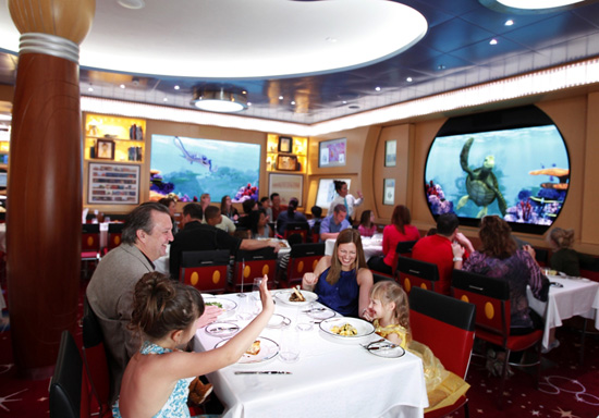 Animator's Palate Aboard the Disney Dream