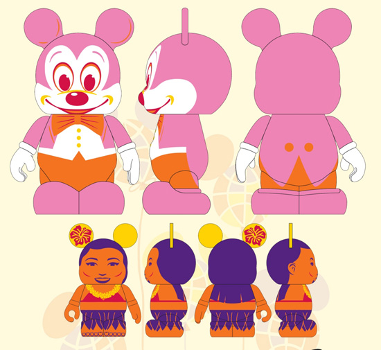 The Florida Project Vinylmation Figure Artwork